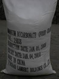 Amonium bicarbonate NH4HCO3