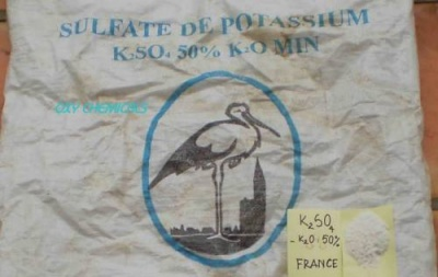 Potasium sulphate -K2SO4